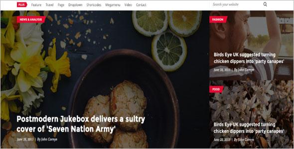 Multi-Concept News Blog Theme