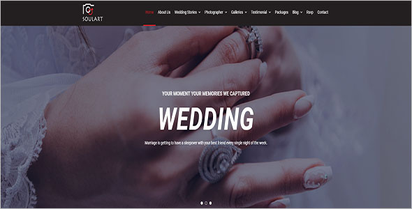 Multi-Concept Wedding Website Theme