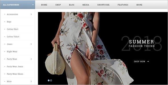 Multi Fashion Woocommerce Theme