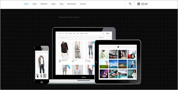 Multi Purpose Woocommerce Blog Template
