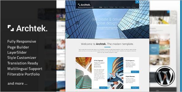 Multilingual WordPress Site Theme