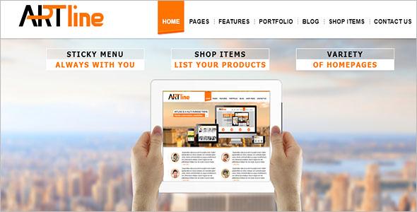 Multiple Blog Website Template