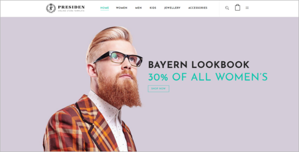 Multiple Magento Template