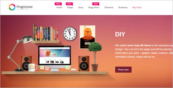 Multipurpose Bootstrap Template