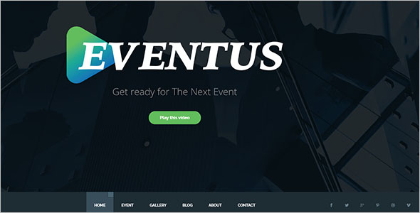 Multipurpose Event Website Template