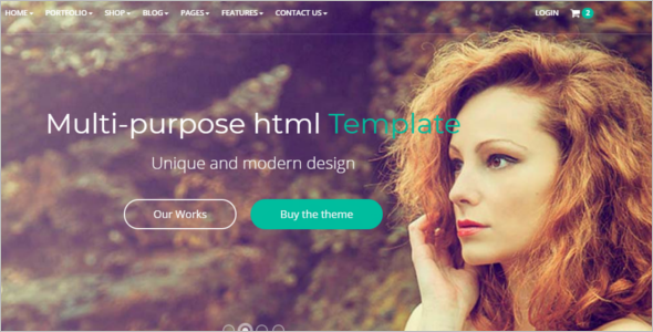 Multipurpose HTML5 Bootstrap Template