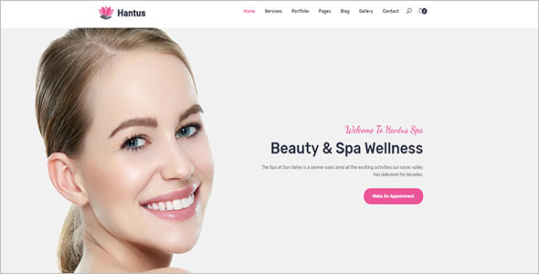 Multipurpose Hair Salon HTML5 Template