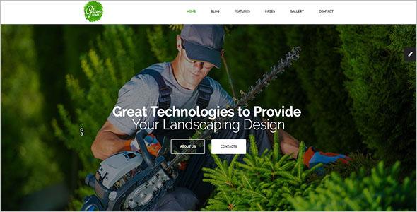 Multipurpose Landscaping Blog Template