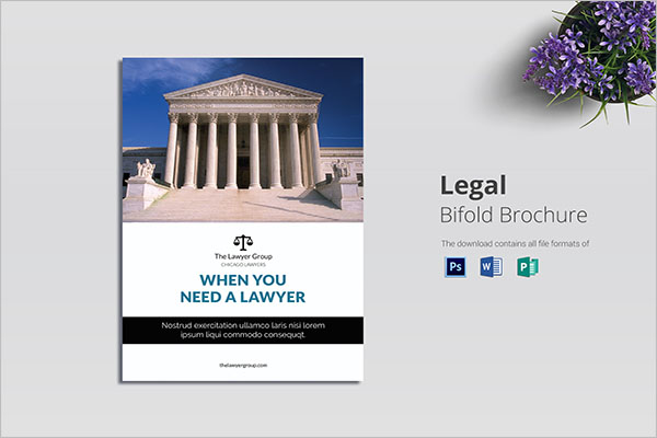 Multipurpose Legal Brochure Template