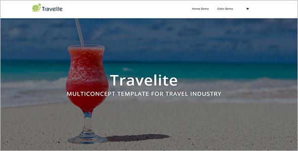 Multipurpose Tour & Travel Template