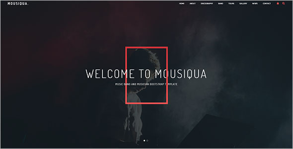 Music Bootstrap Template