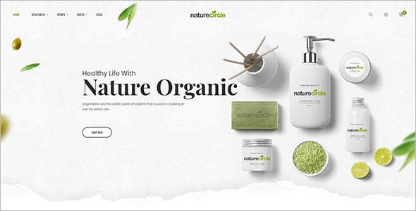 Nature Health Open Cart Theme