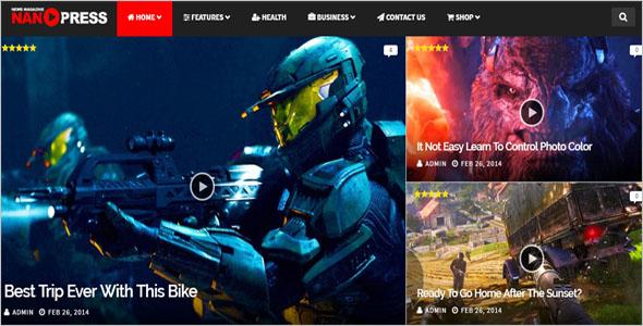 News Drupal Blog Theme