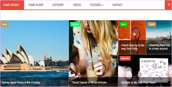 News & Magazine Drupal 8 Theme