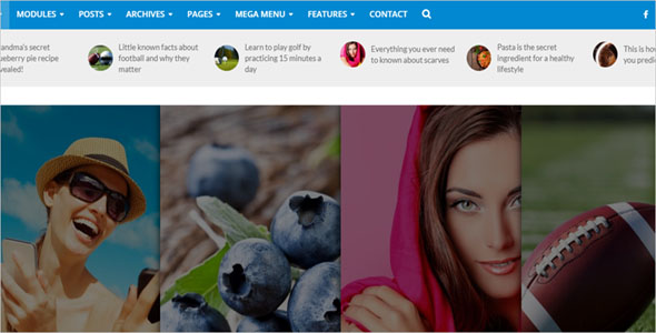 News Portal Blog Template