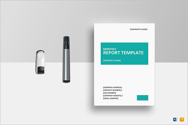 Non Profit Treasurer Report Template
