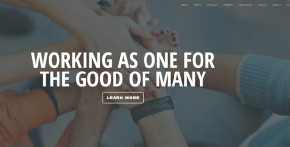 Nonprofit Bootstrap Template