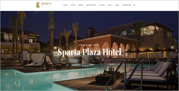 One Page Resort Joomla Template