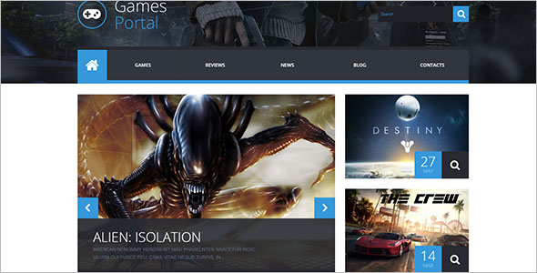PHP WordPress For Game Portal