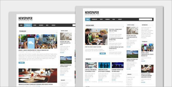 Perfect  Newspaper WordPress Theme