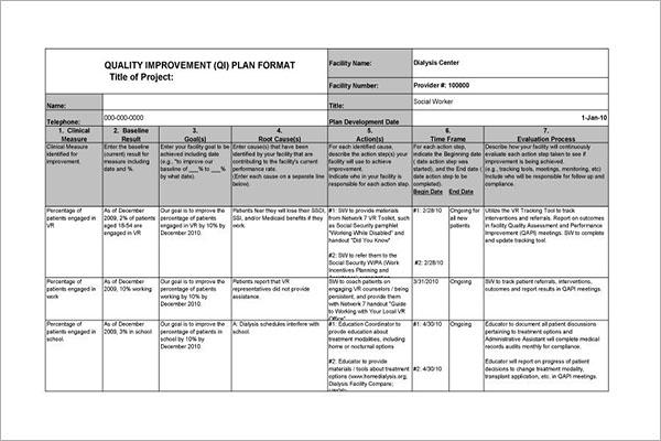 Performance Development Plan Template Excel