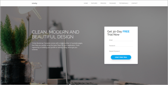 Personal Bootstrap jQuery Template