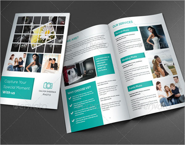 Photography Brochure Design Vector