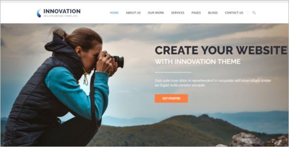 Portfolio Website Bootstrap Template