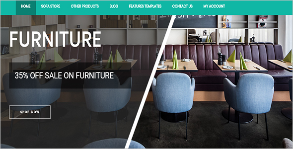 Premium Interior Design Woocommerce Template