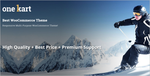 Premium Woocommerce WordPress Theme