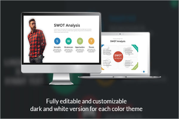 Present SWOT Analysis PowerPoint Template