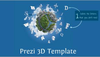 Prezi 3D Templates