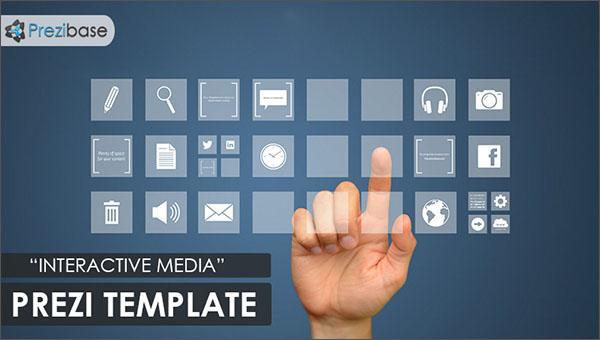 Prezi Screen Presentation Template