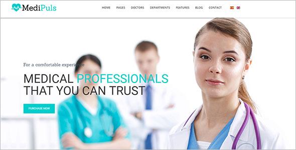 Professional Health Joomla Theme
