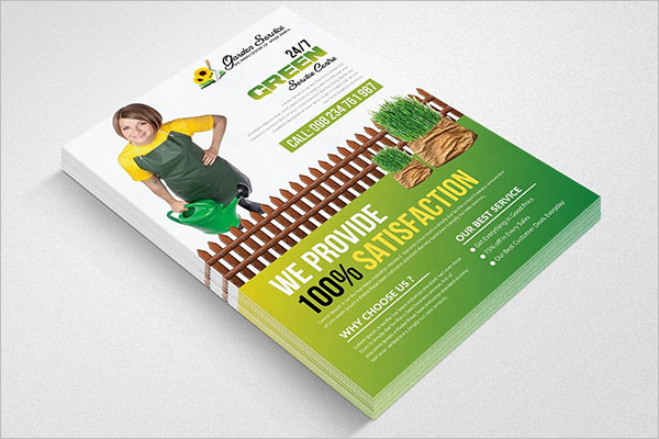 Professional Lawn Care Flyer Template
