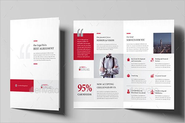 Professional Legal Brochure Template