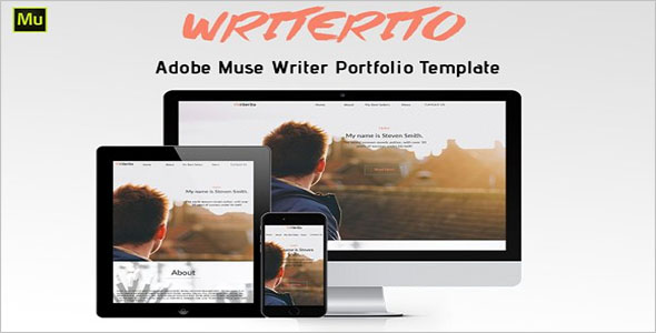 Professional Writer HTML5 Template