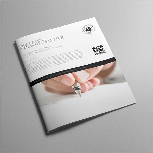 Profit & Loss Statement Template PDF