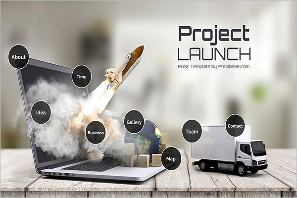 Project Launch Prezi Template