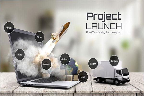 Project Launch Prezi Template