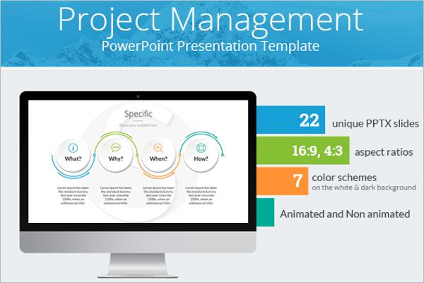 Project Management Plan Template PPT