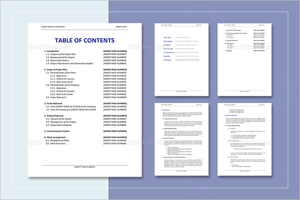 Project Plan For Event Template