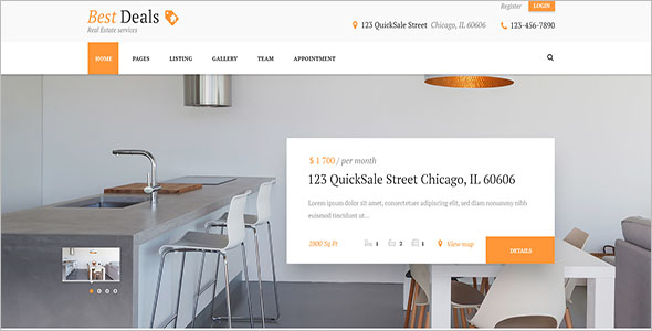 Property Broker WordPress Theme