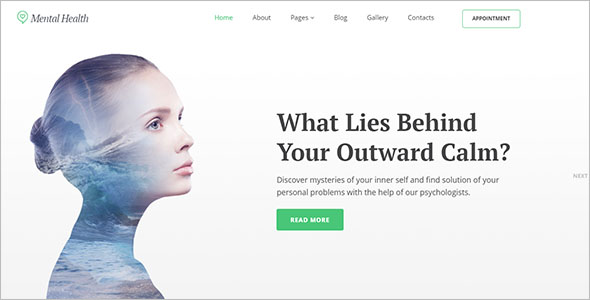 Psychotherapy Center Joomla Theme