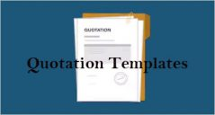 Quotation Templates
