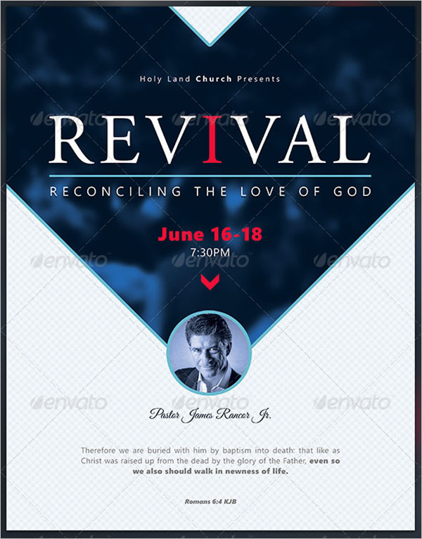 Reconciliation Revival Flyer Template