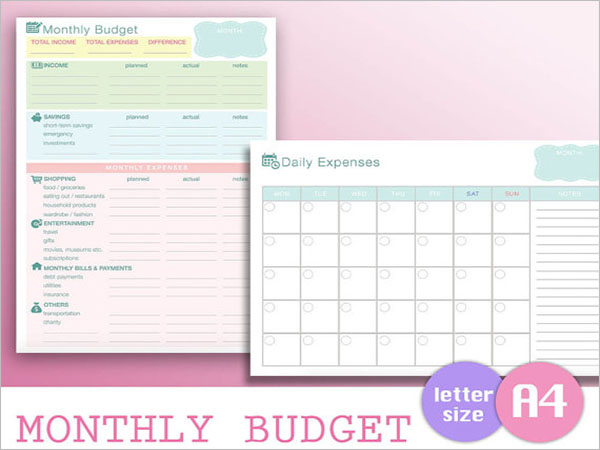 Recurrent Expenditure Budget Template