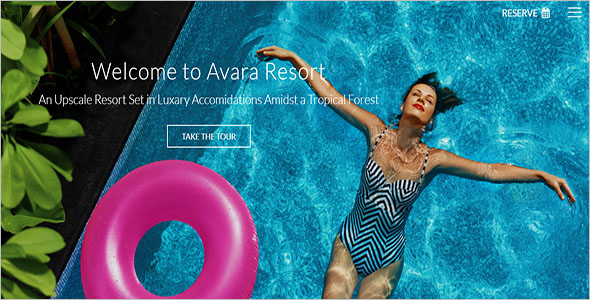 Resort HTML5 Website Template