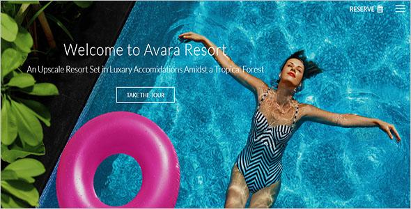 Resort HTML5 Website Template