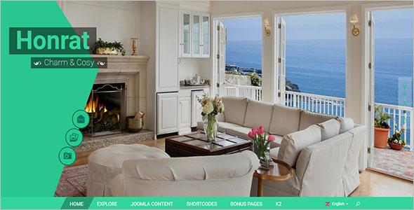 Resort Responsive Website Template